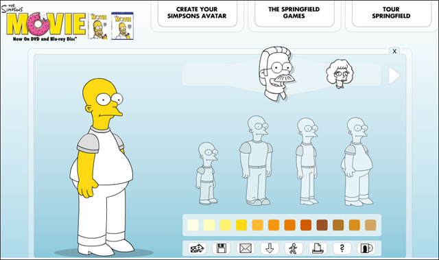 Create your own simpsons avatar for twitter emmanuel 39 s blog for Create your own building